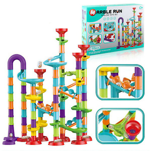 113/93/50pcs Marble Run Race Toy Set,Construction Building Block Maze Toy Gift