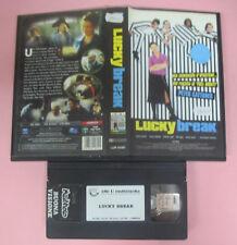 VHS Film LUCKY BREAK 2001 Peter Cattaneo James Nesbitt ELLEU (F102) no dvd