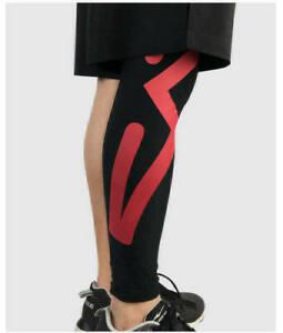 Athlete Calf Leg Running Compression Sleeve Sock Shin Splint Support Brace Sport