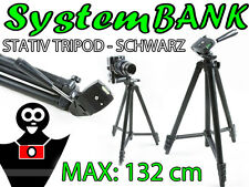 Dreibeinstativ Stativ Tripod SCHWARZ für PENTAX K-x K-7 K-5 II IIs K-30 K-50 K-3