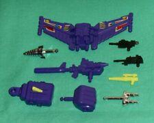 original G1 Transformers DEVASTATOR PARTS WEAPONS LOT #134 chest shield arm fist