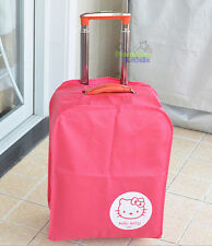 """28"""" Cute Hello Kitty Luggage Protector Suitcase Cover Bags Dust-proof"""