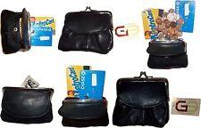 Lot of 6 Leather Change Purse bag Ladies Wallet purse mini pocket coin case bnwt