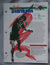 BABE DIDRIKSON SPORTS HEROES BOOKLET SHEET CARD #47