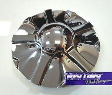 "KMC V2 Chrome Wheel RIM Replacement Center Cap Cover 7"" Part#1001445 WCWFK182"