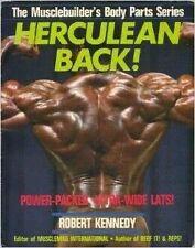 HERCULEAN BACK ROBERT KENNEDY MUSCLEBUILDER'S BODY PARTS SERIES