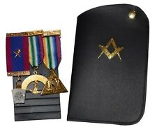 Masonic Jewel Holder with Soft Pouch by 94nine