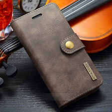 Leather Removable Wallet Magnetic Flip Card Case Cover for iPhone 7 7 Plus 6 6S+