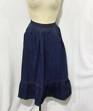 Foxtails Juniors/Women's Denim Cotton midi Skirt 7