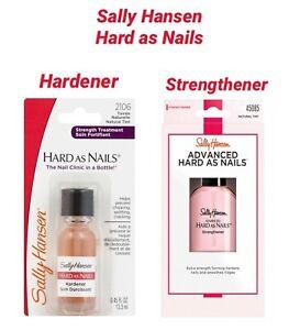 Sally Hansen Hard As Nails Nail Treatment Strengthener and Hardener - Brand New