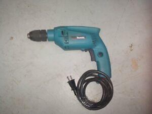 """Makita HP1501 Concrete Drill - Black/Blue -9/16"""" Chuck - Corded"""