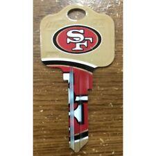 Great Gift Idea NFL SAN FRANCISCO 49ers KWIKSET KW1, KW10, KW11 UNCUT KEY BLANK