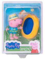 Summertime with Peppa Pig Figure in Swimsuit w/ Kiddie Paddling Swimming Pool
