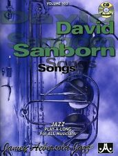 Jamey Aebersold - David Sanborn [New CD]