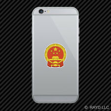Chinese National Emblem Cell Phone Sticker Mobile China flag CHN CN