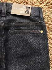 NWT Sexy Seven for all Mankind women's skinny / leggings jeans size: 23x29, $179