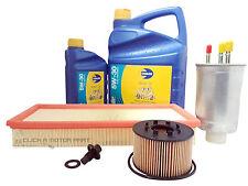 FORD MONDEO MK3 2.0 DIESEL OIL AIR FUEL FILTER 6L OIL SUMP PLUG SERVICE KIT
