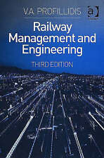 Railway Management and Engineering, Profillidis, V, Very Good Book