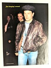 U2 / Bono / 1980'S Magazine Full Page Pinup Poster Clipping (2)