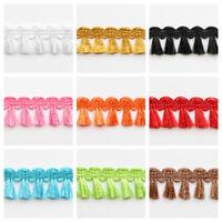 Mini 15mm Tassel Fringe Trim Haberdashery Curtains Lampshades Sewing Crafts