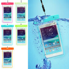Universal multiple Colour Cellphone Waterproof Float Pouch Bag Underwater Case