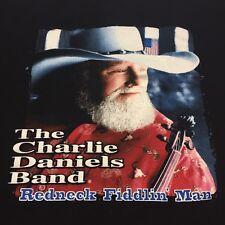 Charlie Daniels Band Redneck American Outlaw T-Shirt Rock Music Concert Biker XL