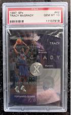 1997-98 Tracy McGrady SPx #42 RC PSA 10