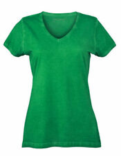 T-shirt, maglie e camicie da donna verde lunghezza lunghezza ai fianchi taglia XL
