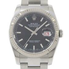 Authentic ROLEX 116234 3 Datejust SSxWG Automatic  #260-003-637-3147