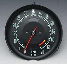 1968 Chevrolet Corvette Tachometer 6500