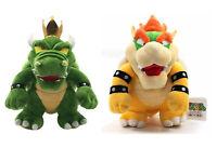Super Mario Bros. King Koopa Bowser Plush Toy Stuffed Figure Doll Kids Gift NEW
