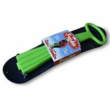 Nsg Freshie Snow Scooter Sled Board, Green/Blue. Either Open Or Damaged Bo.