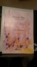 Joaquim Homs: Duet de Vilac for flute / piano (DINSIC)
