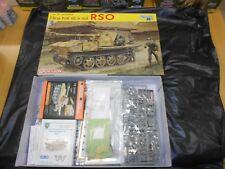 DRAGON 6640, 1/35 7.5cm PAK 40/4 RSO PLASTIC MODEL KIT WITH EXTRAS