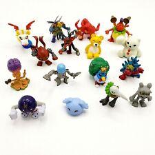 Digimon Lot 16 Mini Figures Monzaemon Pagumon Birdramon Vintage Bandai 1997 2001