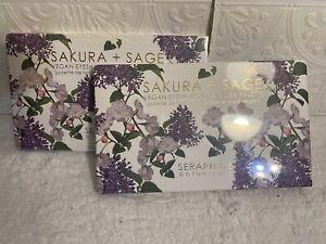Seraphine Botanicals Sakura + Sage Vegan Eyeshadow & Blush Palette X2