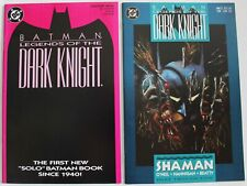 BATMAN Legends of the Dark Knight 1989 new series 1-5. All in 9.2 NM or better.