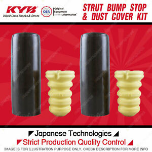 2 Rear KYB Strut Bump Stop + Dust Cover Kits for BMW 320 323 325 330 335 E90 E92