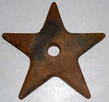 1880's Cast Iron Anchor Star Plate from R.J.Reynolds Tobacco Winston-Salem N.C.