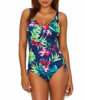 Fantasie TROPICAL MULTI Amalfi V-Neck One Piece Swimsuit, US 36DD