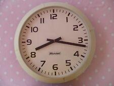 Horloge BODET élécrique - Diamétre 44 cm vintage -gare sncf ?? déco loft