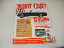 WHAT CAR ?   MAGAZINE   JULY  1993    ENGLISH MONTHLY