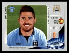Panini Liga de Campeones 2012-2013 Javi Garcia Manchester City FC no. 255