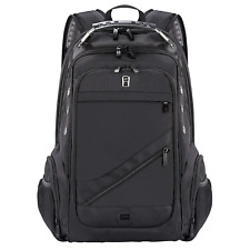 Travel Laptop Backpack, Large Water Resistant Computer Rucksack with USB Port,
