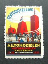 Netherlands-1929-Amsterdam M/Cycle Exhib-MNH Cinderella