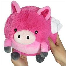 "SQUISHABLE Flying Pig 7"" Mini Plush round stuff animal Amazingly NEW in Pkg"
