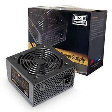 LMS Data X550 550W ATX PC Desktop Computer Power Supply PSU PFC 12CM Quiet Fan