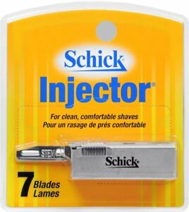 Schick Injector Plus Chromium Blades 7 Count (Pack of 3)