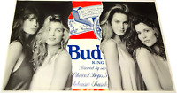Vintage Anheuser-Busch Budweiser Beer Advertisement Poster Ad Print Art Picture