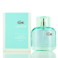 L.12.12 Pour Elle Natural Lacoste Edt Spray 1.6 Oz (50 Ml) Womens